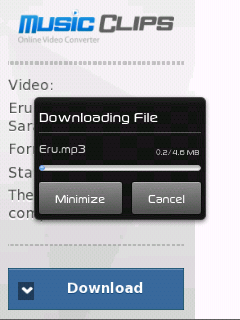 Download video youtube menjadi mp3 dari hp