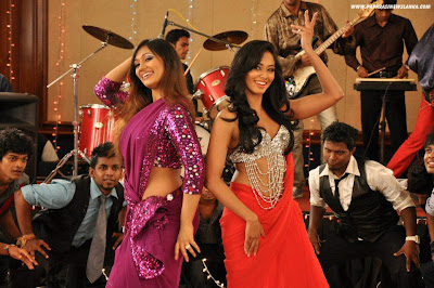 Srilankan Hot MP  Upeksha (Paba) and Sexy Model Ureni Noshika Dance Pictures