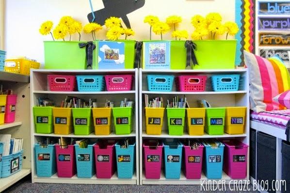 beautiful classroom library