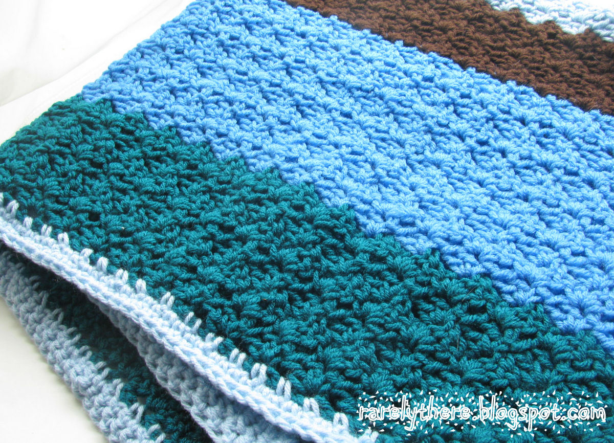 Crochet Pattern For Swaddle Blanket : RarelyThere: Books, Crafts, Arts and Life
