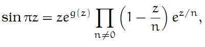 Complex Analysis: #25 Some Infinite Products equation pic 3