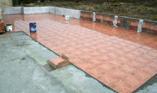 Soaking tiles