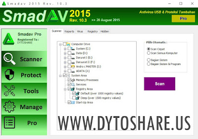 Smadav 2015 Pro Rev 10.3 Terbaru