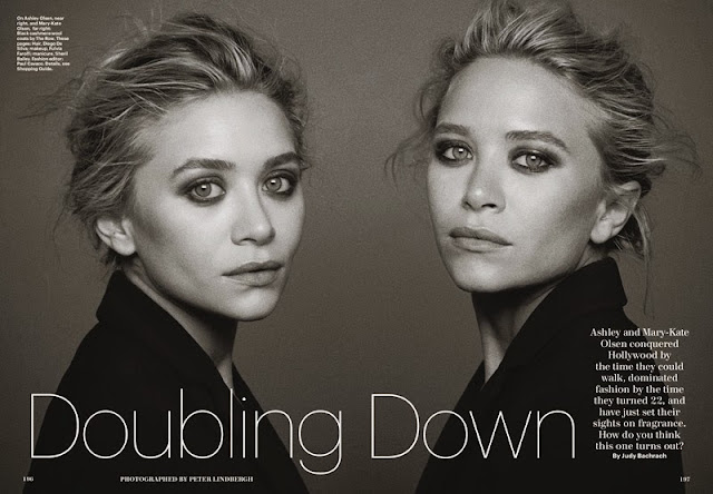 Mary Kate & Ashley by Peter Lindbergh