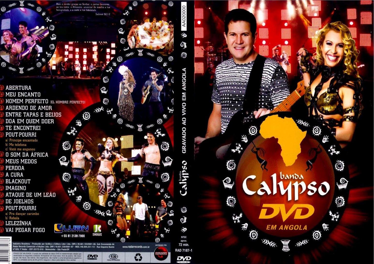 Download Calypso – Ao Vivo em Angola DVD-R