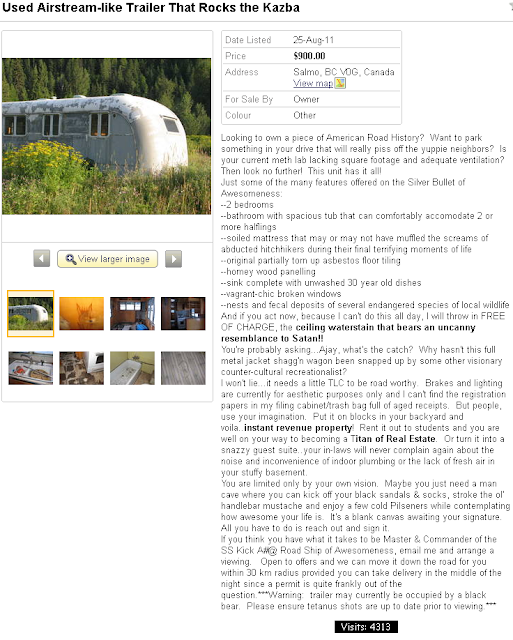 kijiji airstream trailer