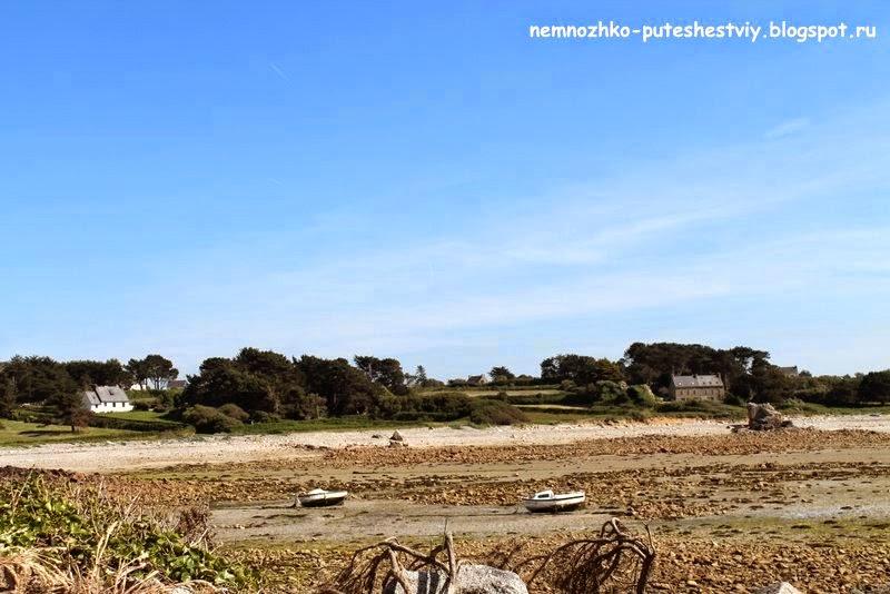 Берег розового гранита, Бретань