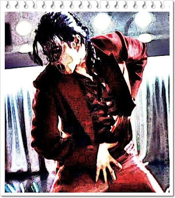 MJ Blood on the Dance Floor Digital Art