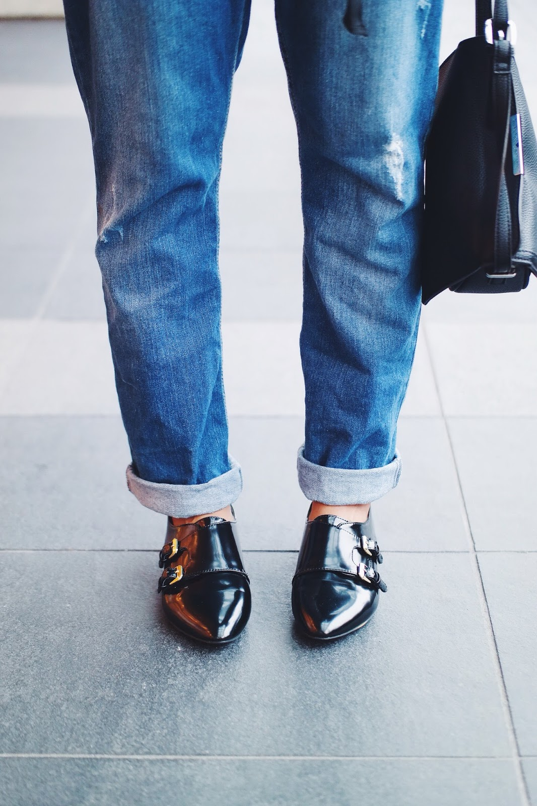 Jeans With Straps For Men - Jeans Am