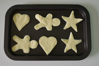 Felt Cookies on Ikea kid's baking sheet