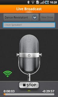 spreaker Crea tu propia radio online con Spreaker para Android