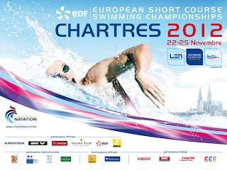 NATACIÓN-Europeo piscina corta Chartres 2012