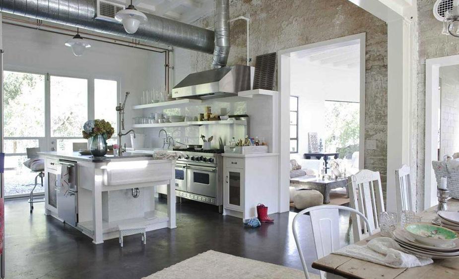 Il boom dello stile country chic blog di arredamento e interni dettagli home decor - Cucine provenzali moderne ...