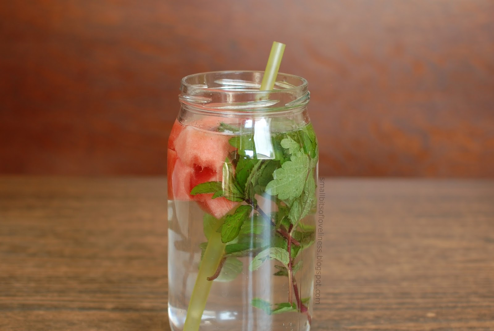 Mint Watermelon Infused Water