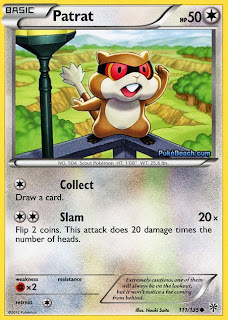 Patrat Plasma Storm Pokemon Card