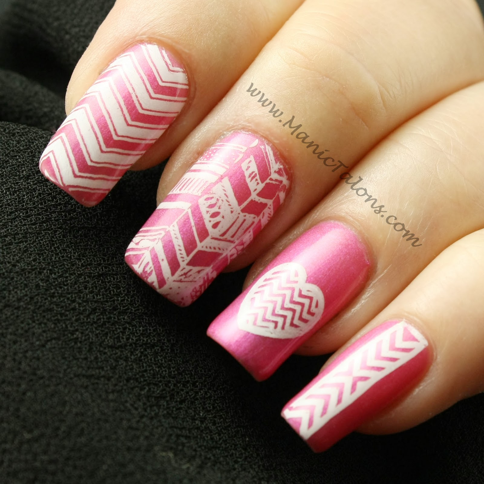 Manic Talons Nail Design: Messy Manision Stamping Plate Review plus ...