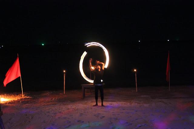 Fire-dancing Ko Tao