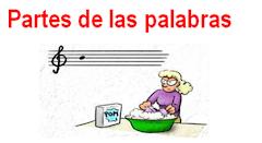 PARTES DE LAS PALABRAS