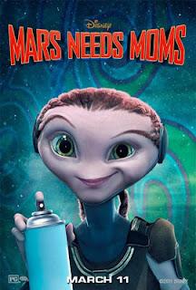 Marte Precisa de Mães, de Simon Wells