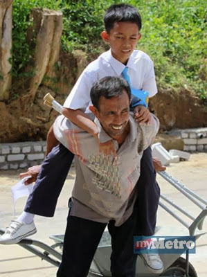 Anak buruh binaan dapat keputusan UPSR 2013 cemerlang