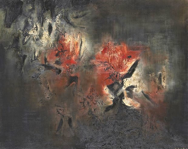 "Чжао Уцзи ""Abstraction"", 1958"
