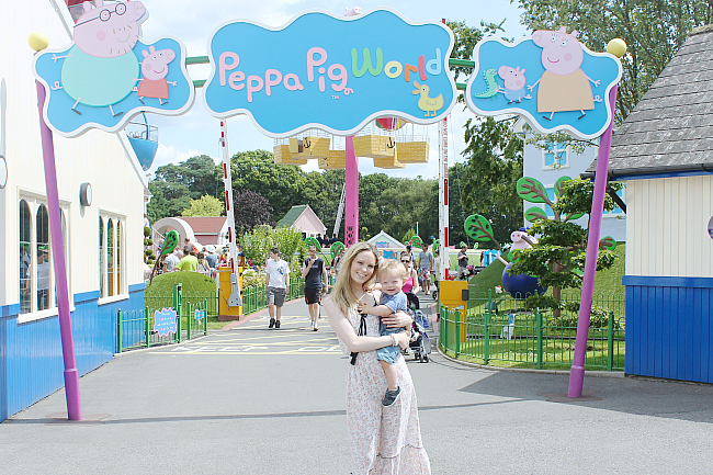 peppa pig world, peppa pig,