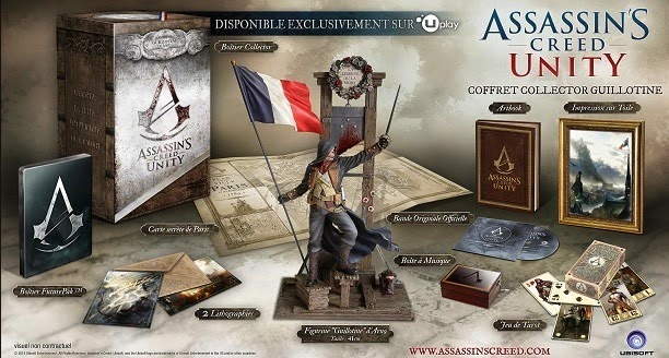 Assassin's Creed Unity Collector's Editions Announced