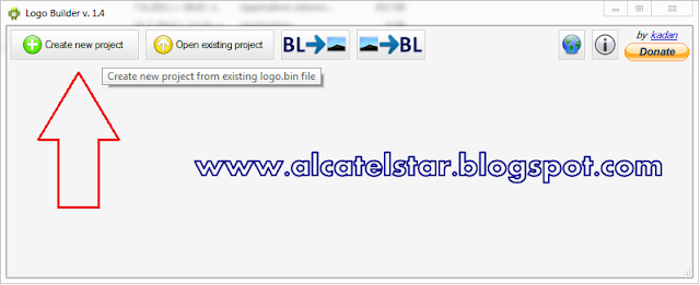 changing bootlogo mtk alcatel star idol