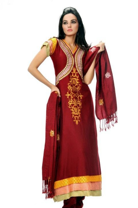 Pin frock suit waheguru boutique phagwara on pinterest