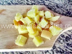 Salata orientala preparare reteta - cartofii tocati bucatele