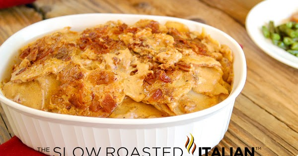 ... Italian - Printable Recipes: Bacon Cheddar Beer Potatoes Au Gratin