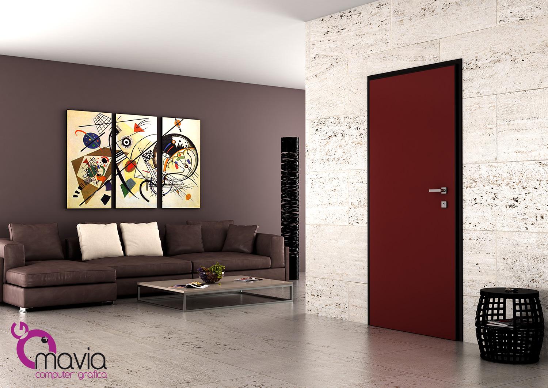 Arredamento di interni porta blindata 3d for Siti arredamento interni