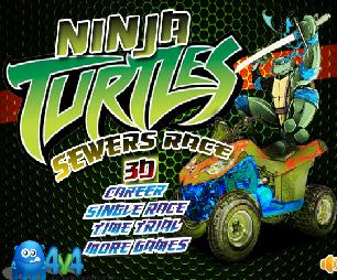 Ninja Kaplumbağalar Yarışı