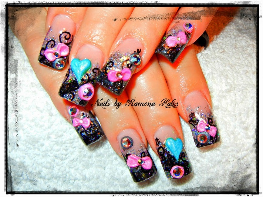 Cute 3d Nail Art Designs To Bend Light