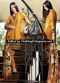 Gul Ahmed Latest Fall Winter Dresses