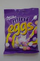 Dragée-Eier aus Alpenmilch Schokolade