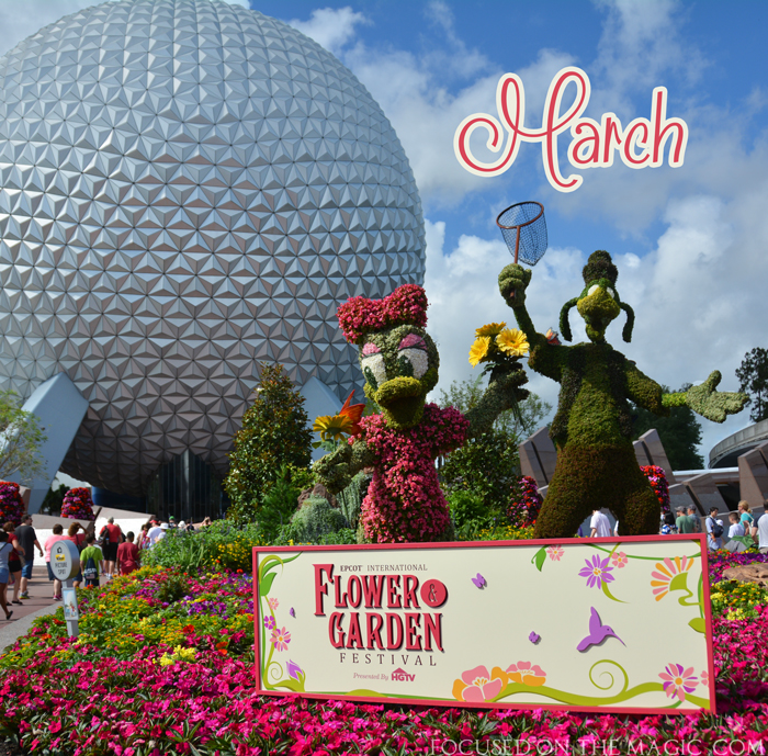 Focused on the Magic Disney Wordless Wednesday Blog Hop: March