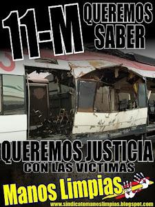 11-M EXIGIMOS JUSTICIA Y VERDAD