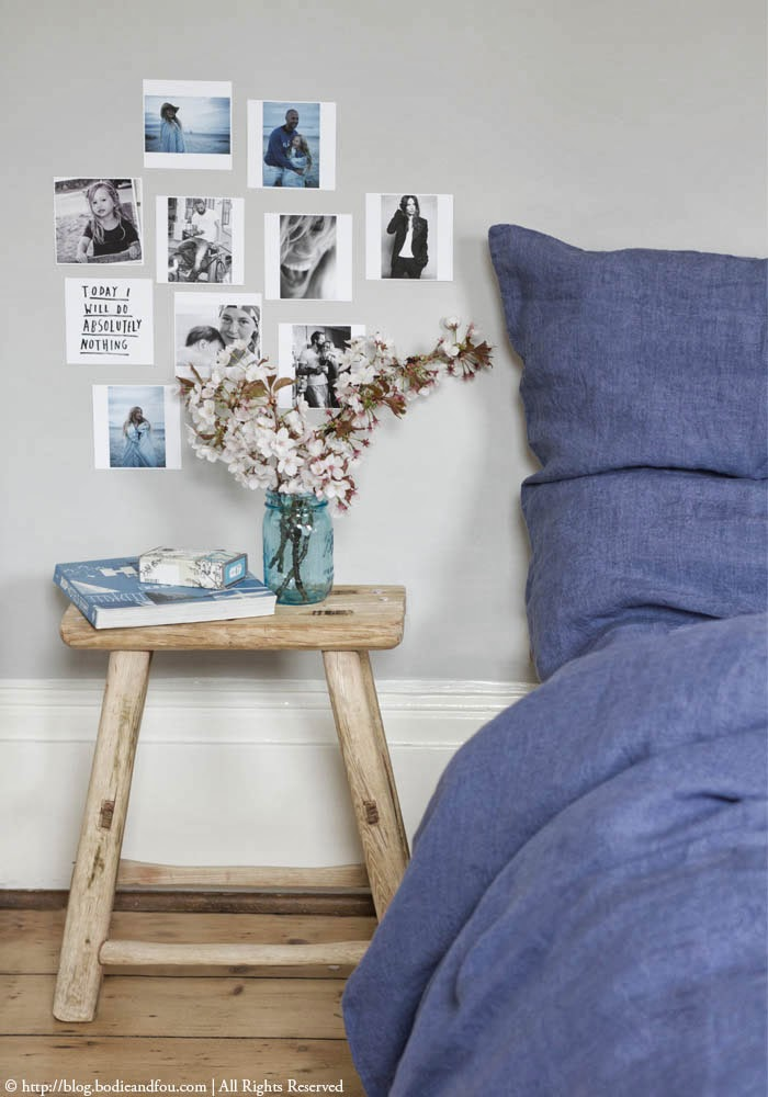 How to style your bedrooms for the Summer | Blues | textures | Flowers