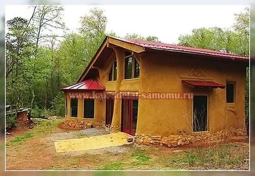Саманный дом своими руками от и до 409