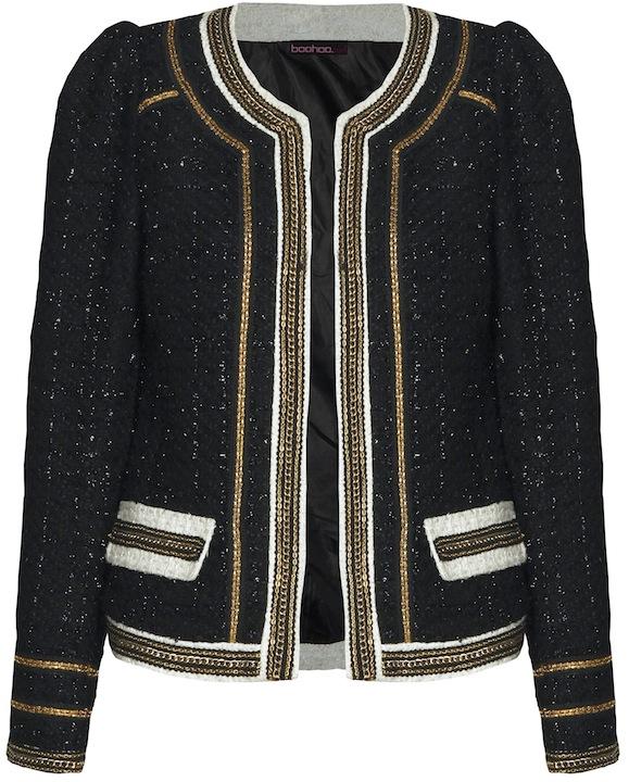ac7cfeb571f9 I Love  Boohoo s £45 Chanel-Style Trophy Jacket - Coco s Tea Party