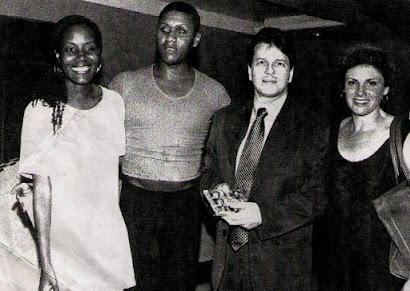 No inicio do BIBO SHOW em 1998