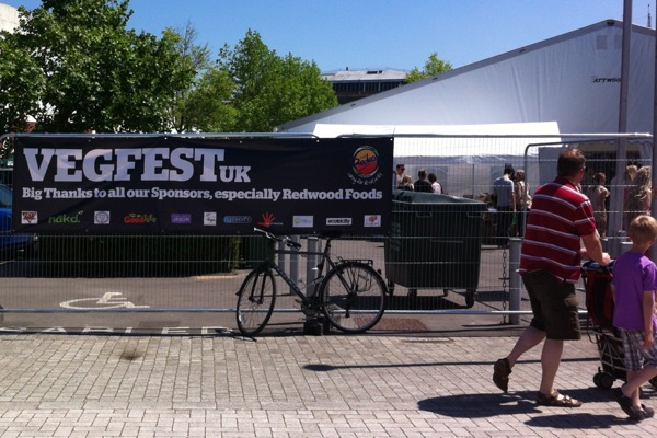 VegFest Bristol 2012: Day 2