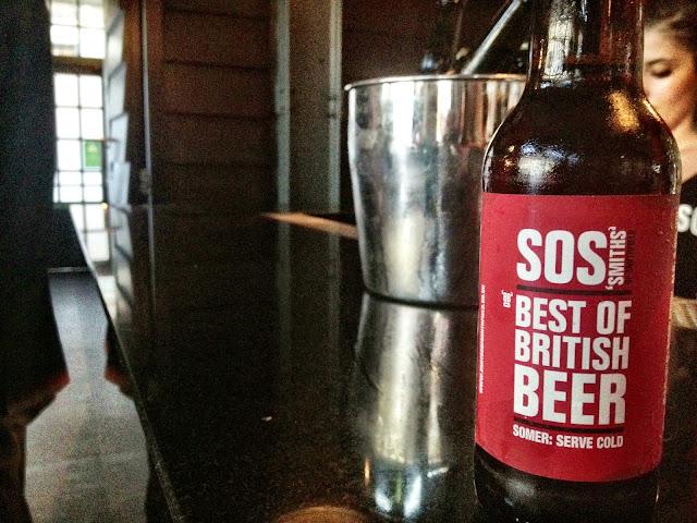 Smith Spitalfields Best of British 'BOB' beer