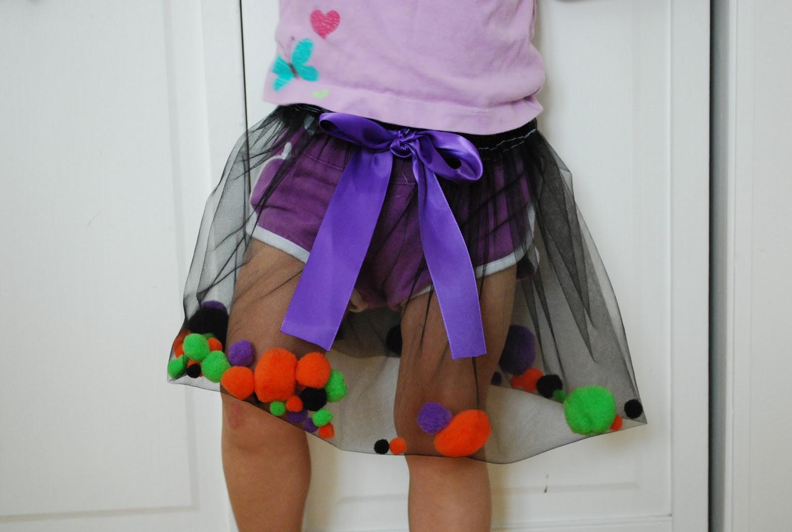 Сшить юбку для девочки из сетки своими руками