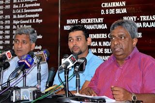 Tillakaratne Dilshan, Sri Lanka's new captain, and Duleep Mendis, new chief selector, Colombo, April 20, 2011