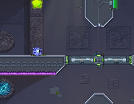 Jogos de plataforma, puzzle: Transmorpher 3 - Ancient Alien