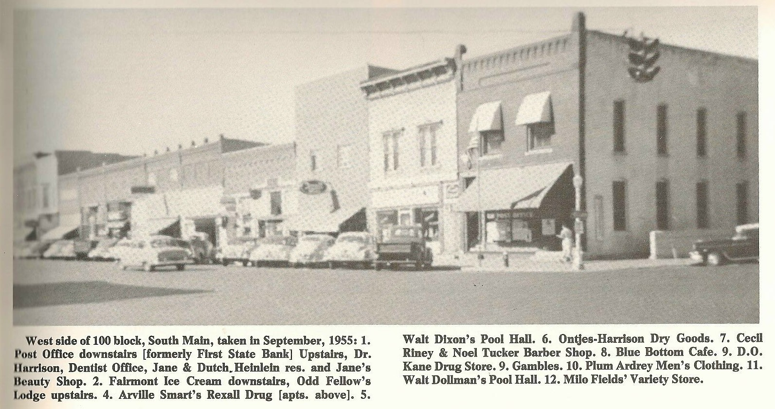 Kansas stafford county - Stafford S Main Street Looks Different Than It Did In This Photo From 1955 Found In Stafford S Centennial Book Crossroads Of Time 1885 1985