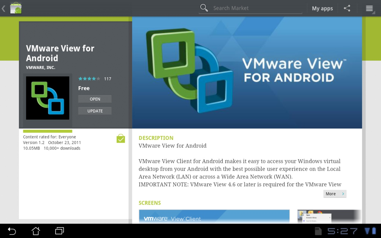 vmware android 4 image