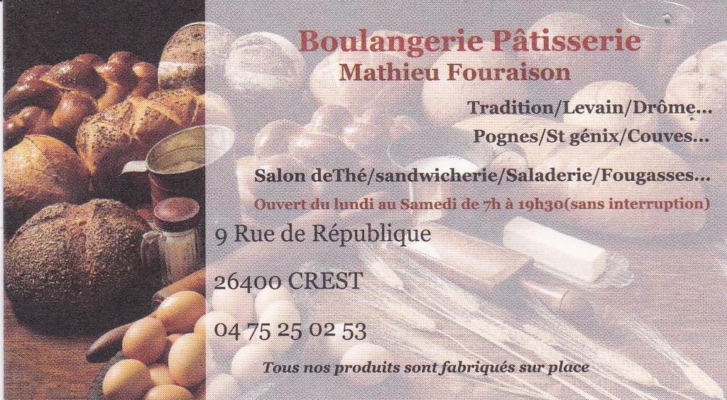 Boulangerie Fouraison